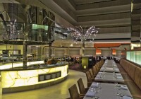 Hyatt Hotel - Restaurants - Backlit Onyx Buffet Table