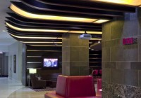 Hyatt Hotel - Restaurants - Custom Backlit Panels at Restaurant Entrance