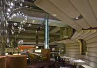 Hyatt Hotel - Restaurants - Custom Housing for Table Spot Lights at Banquette