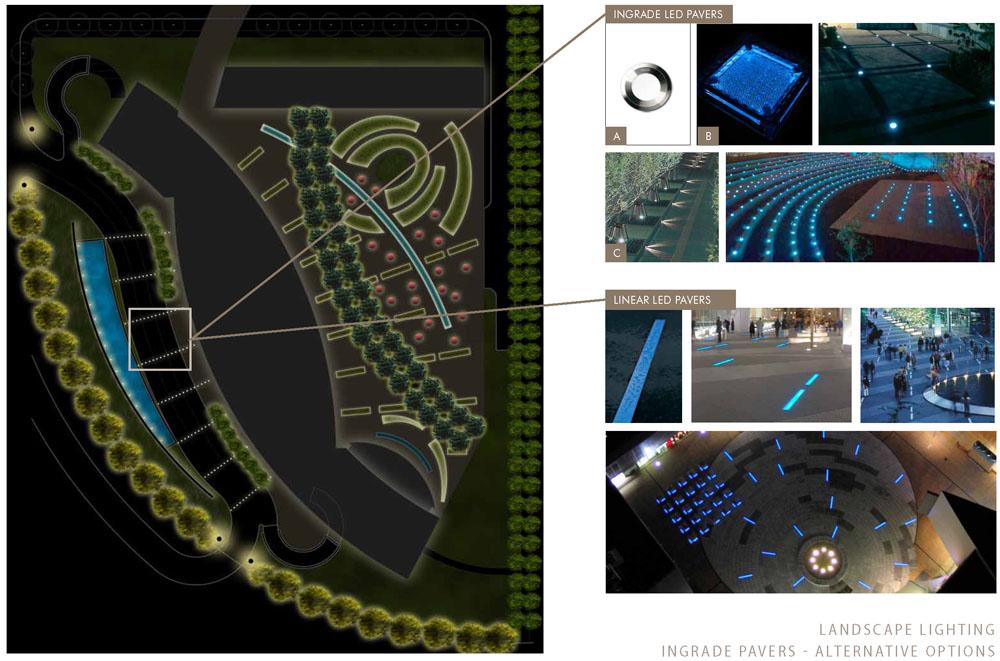 Lux et veritas design inc hyatt hotel kal h2 lux et for Outdoor lighting concepts