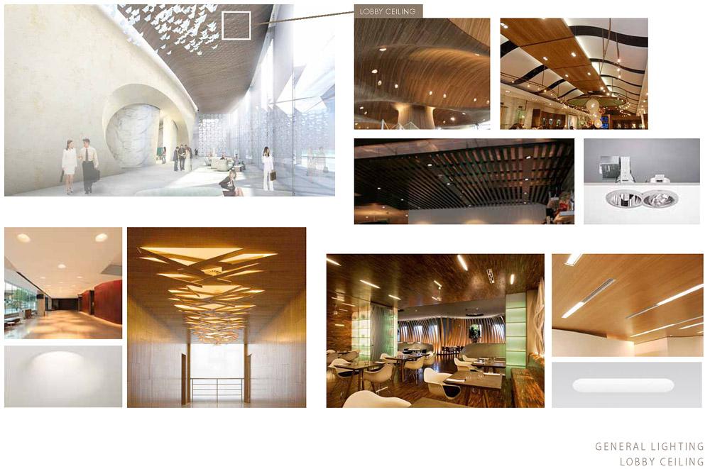 Hyatt Kal Lobby Ceiling Concepts