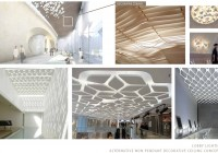 Hyatt KAL-Lobby Wood Ceiling Lighting Concepts