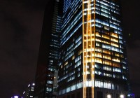 International Finance Center - Exterior Facade Lighting