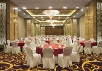 The Meydan Hotel - Backlit screens and Custom Chandeliers at Main Ballroom