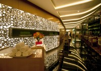 The Meydan Hotel - Backlit wall at Entrance to All Day Dining Restaurant