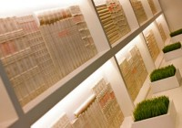 W Buckhead - Concealed LED Lighting Illuminate Carved Books